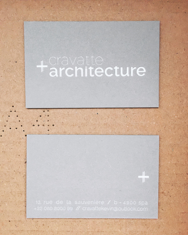 ouverture du bureau cravatte architecture